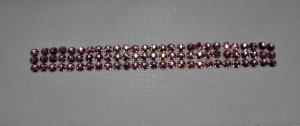 Pink Crystal Strip, SCS102